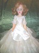 Vintage Bride Fashion Doll