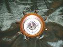 Vintage Atco Ships Wheel Barameter