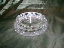 Vintage Quality Crystal Ashtray