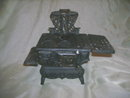 Small Vintage Cast Iron Cookstove