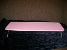 RETRO Pink Metal Shelf