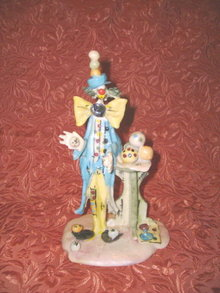 Unusual Clown Figurine