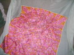 Vintage Floral Print Scarf by Vera