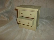 Wooden Doll Chest of Drawers
