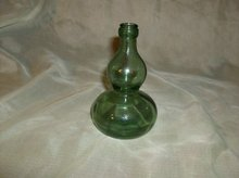 Dark Green Vintage Bottle