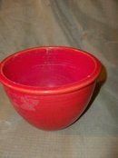 Vintage Fiesta Red Mixing Bowl  # 2  ***LOOK***