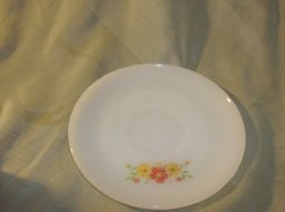 Vintage Fire King  Wild Flower Saucer
