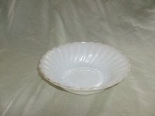 Vintage Fire King Swirl Bowl