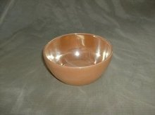 Vintage Fire King Peach Lustre Chili Bowl