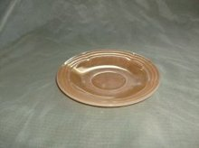 Vintage Fire King Peach Lustre Saucer