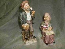 Vintage Norleans Porcelain Figurine Pair