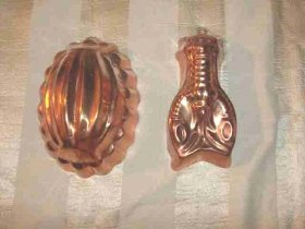 Pair of Copper Molds