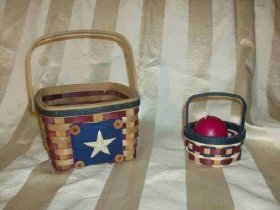 Americana Basket Pair