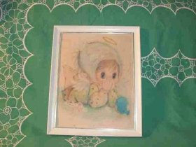 Vintage 1960's Little Angel Picture
