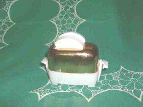 Vintage Copper Toaster Salt & Pepper Shakers
