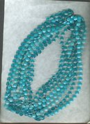 Vintage 4 Strand Bead Necklace  **LOOK**