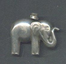 Vintage Silver Elephant Pendant