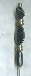 Vintage Glass Bead Hat Pin