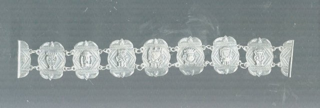 Vintage Silver Peruvian Bracelet