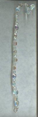 Vintage Crystal Bead Bracelet