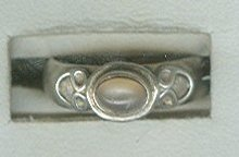 Sterling Silver & Pink Ring