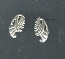 Vintage Sterling Silver Danecraft Earrings
