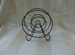 Retro Black Metal  Napkin Holder