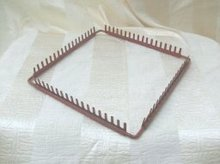 Vintage Metal Weaving Frame