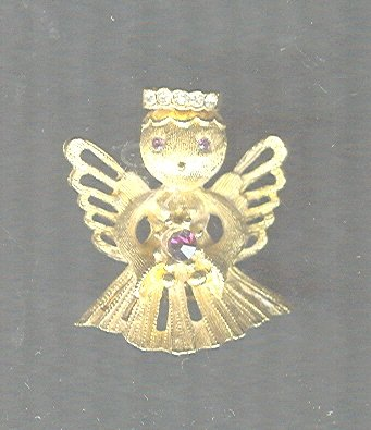 Vintage Angel  Pin
