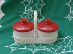 Retro Dialene Better Maid Table Condiment Set