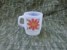 Vintage Fire King Flower Mug