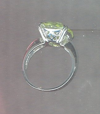 Huge Oval Stone Ring