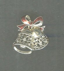Very Nice Christmas Bell Pin