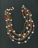 Vintage 9 Strand Necklace