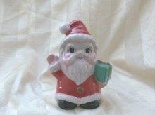 Vintage Porcelain Santa Bank
