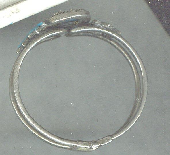 Vintage Imitation Turquoise Bracelet