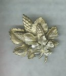 Vintage Botticelli Leaf  Pin