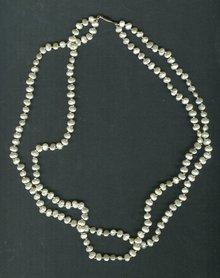 Vintage Baroque Seed Pearl Necklace