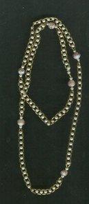 Vintage Wedding Cake Bead  Necklace