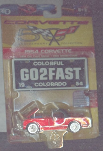 Corvette 50 Anniversary  Collection Die Cast Car