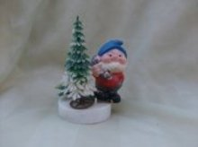 Vintage Elf Decoration