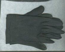 VintageLadies Black Leather Gloves