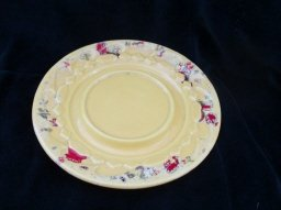 Vintage Cherokee Pottery Small Plate