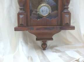 Antique Key Wind Regulator Clock