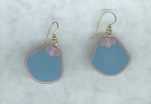 Laurel Burch Enamel Earrings