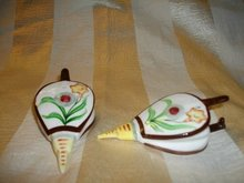 Vintage Fireplace Billow Salt & Pepper Shakers