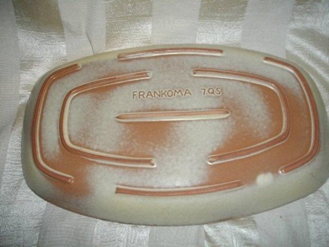 1988 Frankoma Pottery Tray