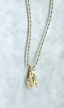 14 KT Gold Necklace w/
