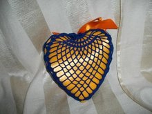 1950's Hand Made Heart Pin Cushion