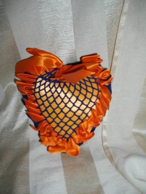 1950's Hand Made Heart Pin Cushion